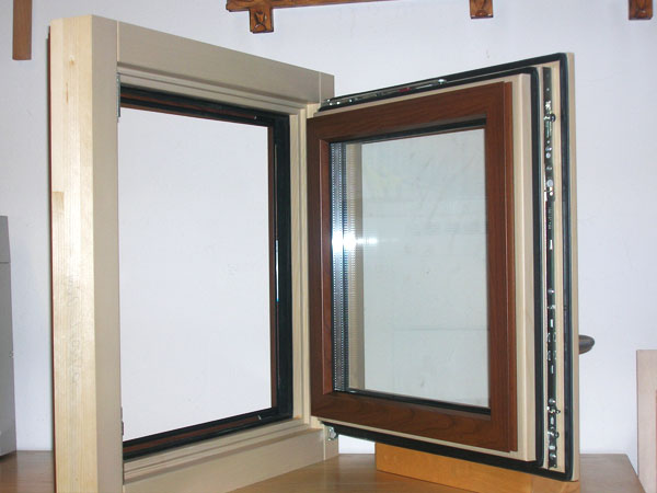 Falegnameria gubert serramenti legno alluminio - Finestre esterne in alluminio ...